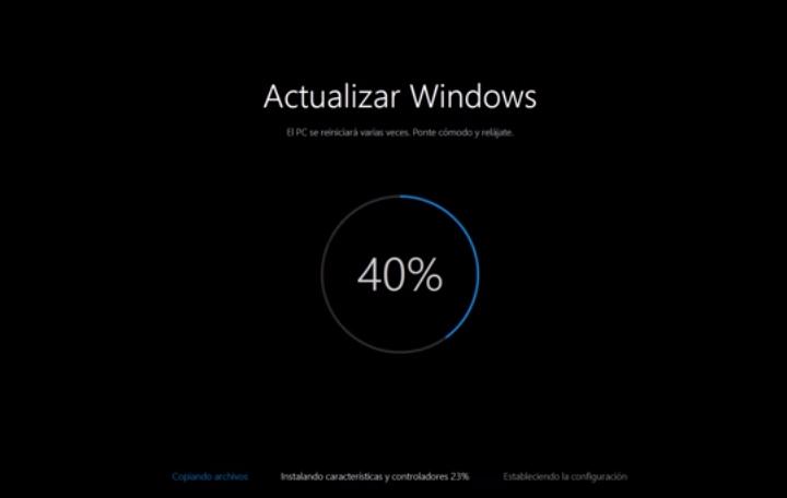 """La nueva """"pantalla de la muerte"""" nde Windows 10. FOTO: Especial"""