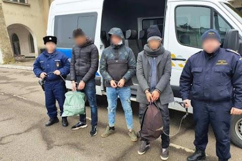 Kismarja külterületén három külföldit tartóztattak fel