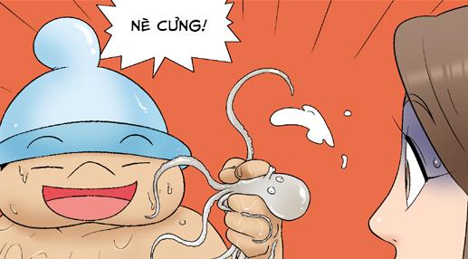 Kim Chi & Củ Cải (bộ mới) phần 66: Sóng đánh tụt quần