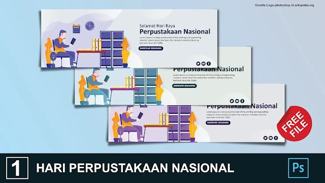 Download Banner Hari Perpustakaan Nasional