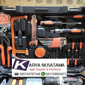 Jual Cordless Bor With Tool Kit Mesin Bor Baterai di Makasar