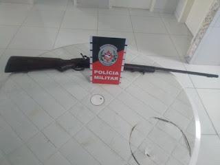 Polícia de São Vicente do Seridó tira de circulação mais uma arma de fogo