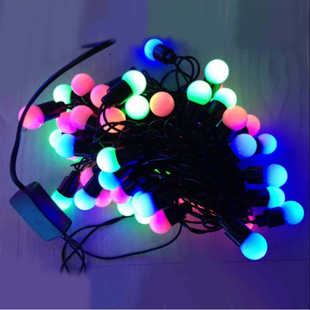Superdeals Multi Color 50 Led 5Meter Rgb Modeling Lights