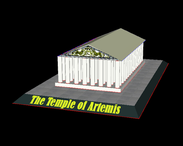 Seven Wonders of the Ancient World Pt.3 – The Temple of Artemis