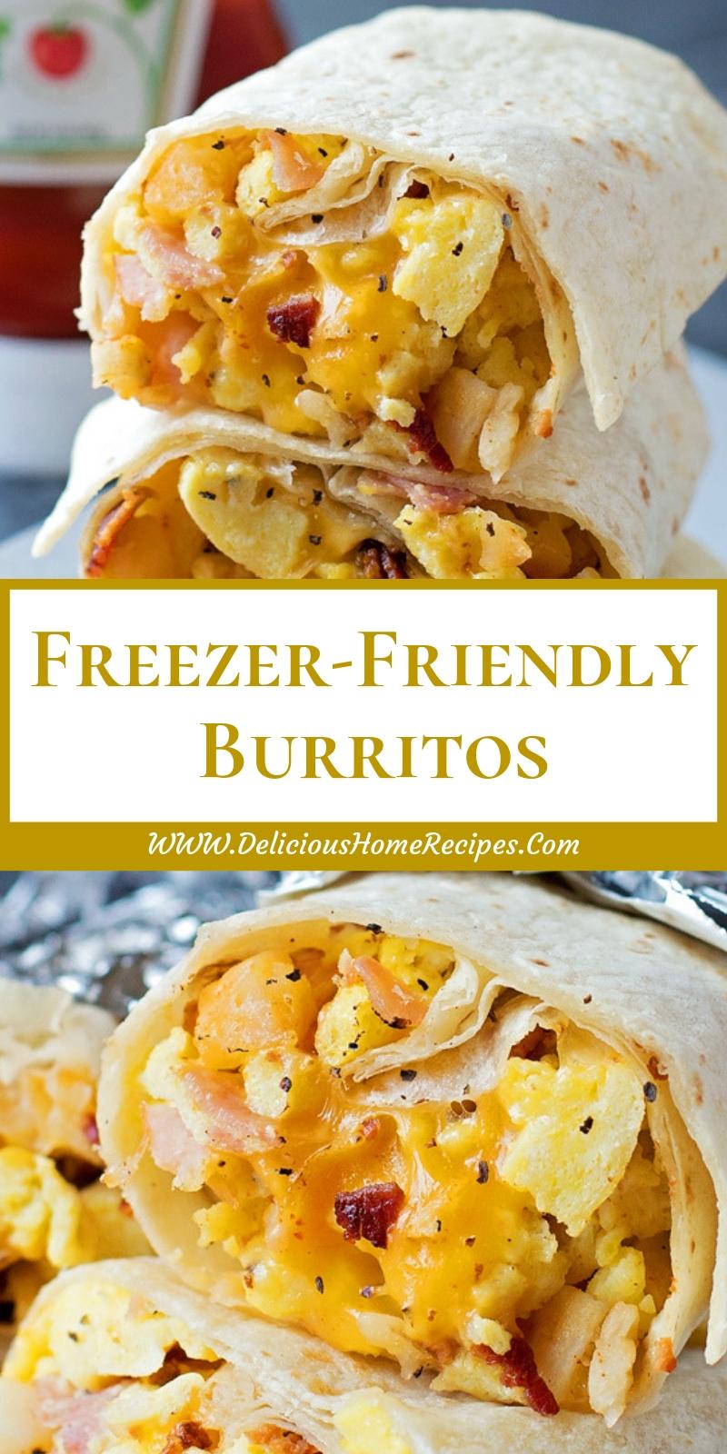 Freezer-Friendly Burritos