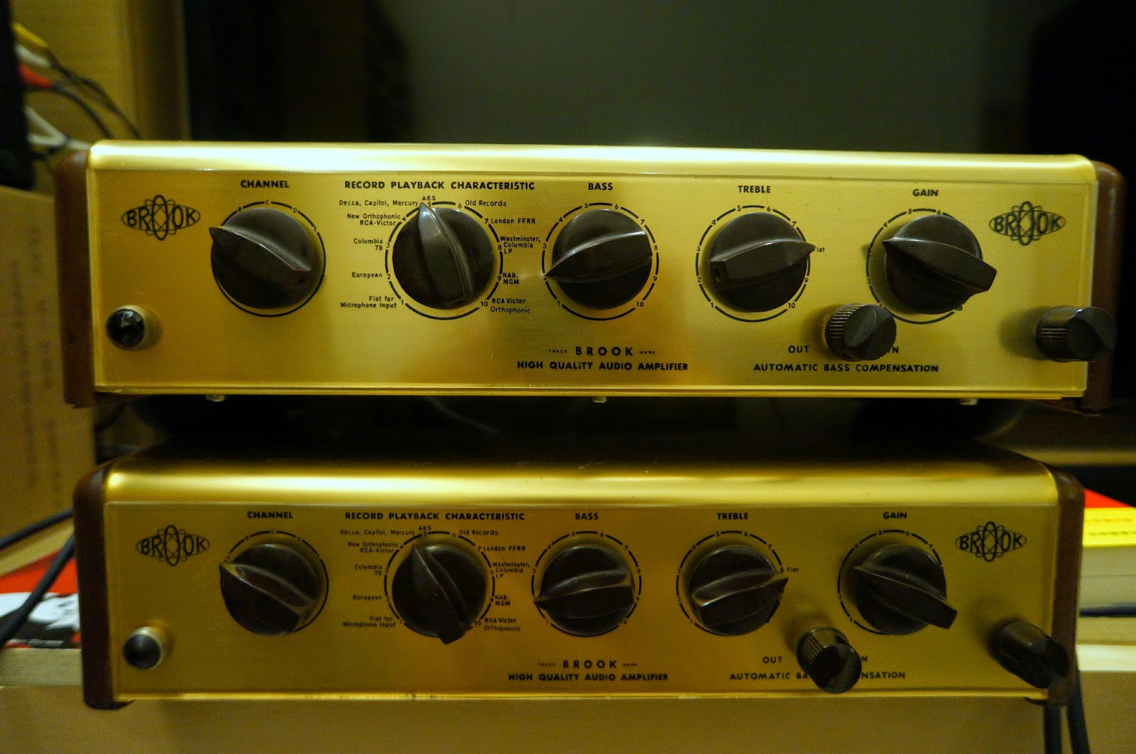 Doctorjohn Cheaptubeaudio Audio Reviews And More Brook Model 7 Preamplifier Glory