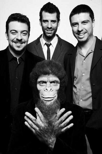 Chimpanzé Clube Trio - Discografia