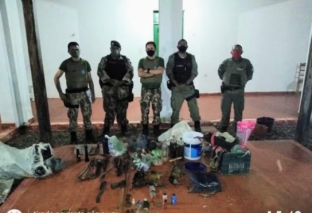 BATALHÃO de Polícia Ambiental, IBAMA e GPM de Aroazes realizam Operação Serra Negra II; confira todo o desfecho.