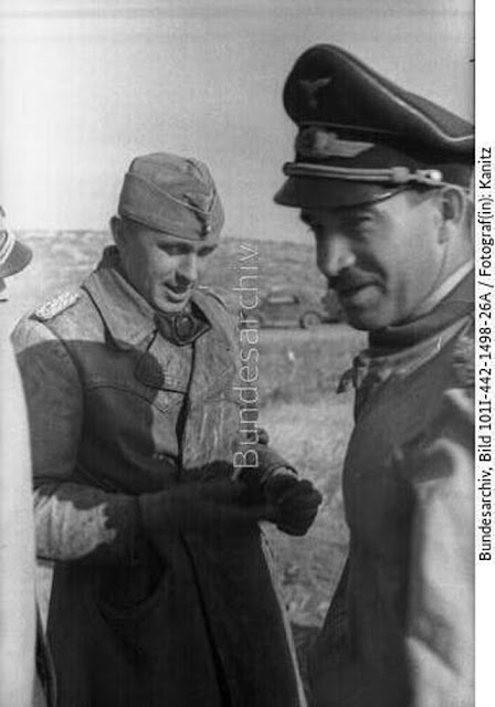 Adolf Galland in North Africa, May 1942 worldwartwo.filminspector.com
