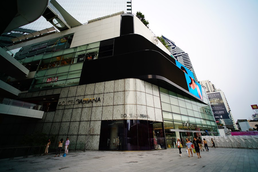 Bangkok shopping in EmQuartier and Terminal 21