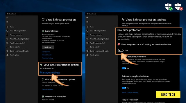 Cara Nonaktifkan Antivirus di Windows 10
