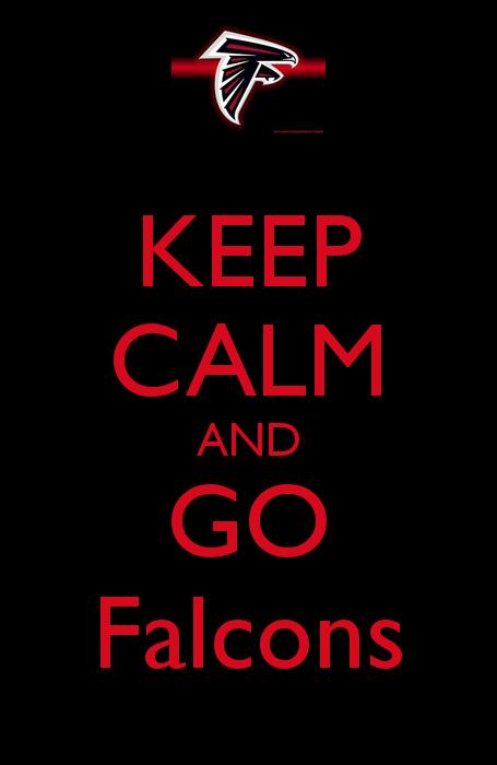 Keep Calm and Go Falcons