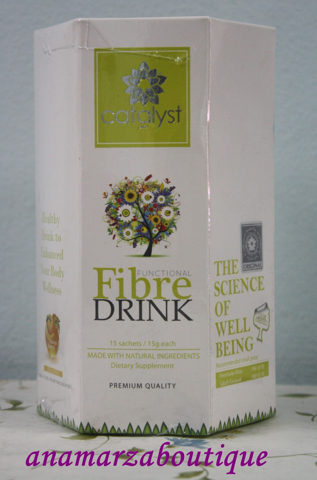 CATALYST NATURAL FIBRE DRINK