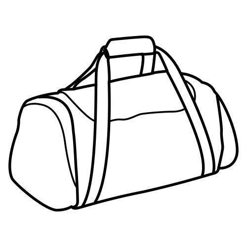 Imagenes de bolsos para colorear