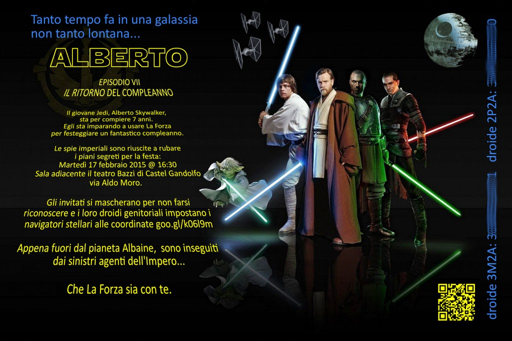 Preferenza Babbo Pasticcione: Festa in tema Star Wars KI48