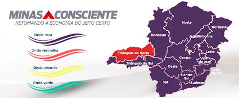 """Governador prorroga """"Onda Roxa"""" até 11 de abril em Minas Gerais"""
