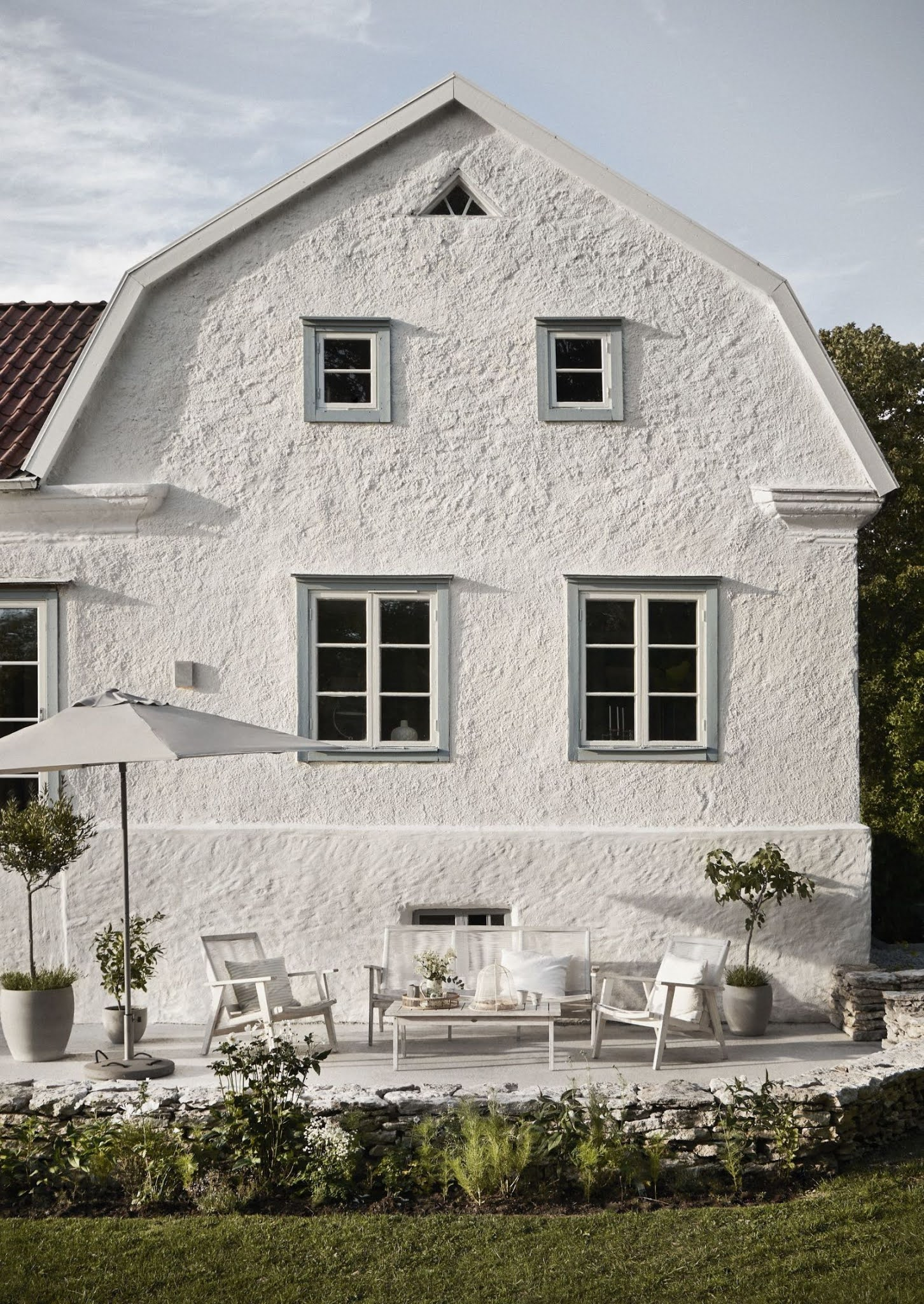 A 19th Century House Ready for Summer,  On The Swedish Island of Gotland