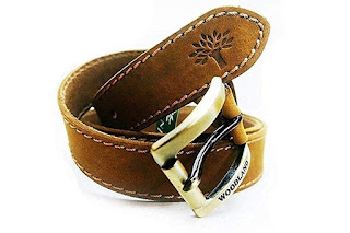 Woodland generic pure leather belt