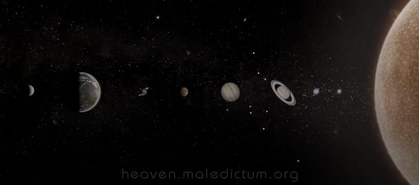 Одна необъяснимая странность развития Солнечной системы