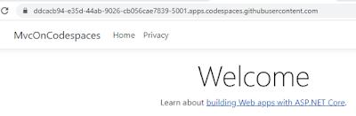 Port forwarding in codespaces