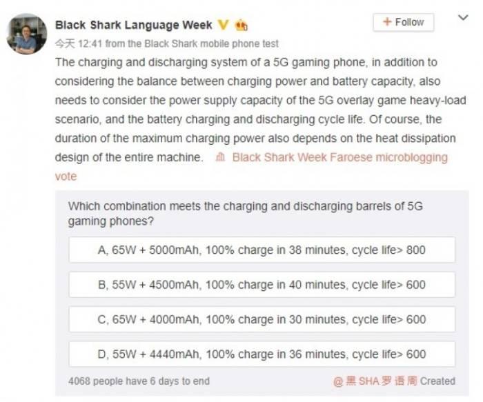 Spesifikasi Xiaomi BlackShark 3