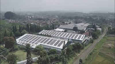 PLTS Atap Pabrik Mekarsari
