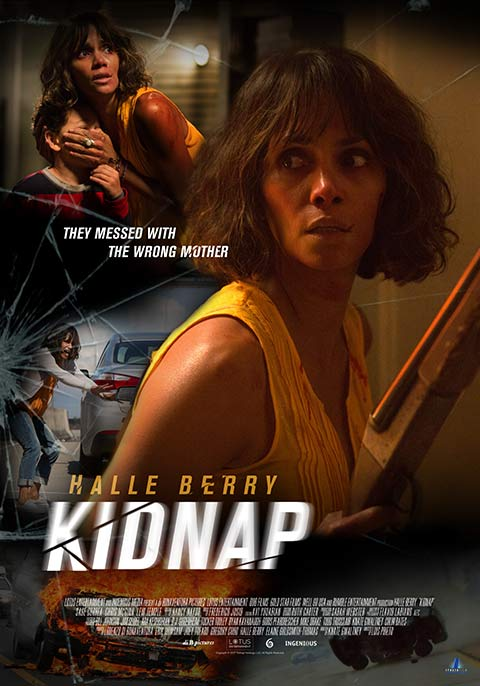 Kidnap (2017) 720p HEVC BluRay x265 Esubs [Dual Audio] [Hindi ORG – English] – 500 MB