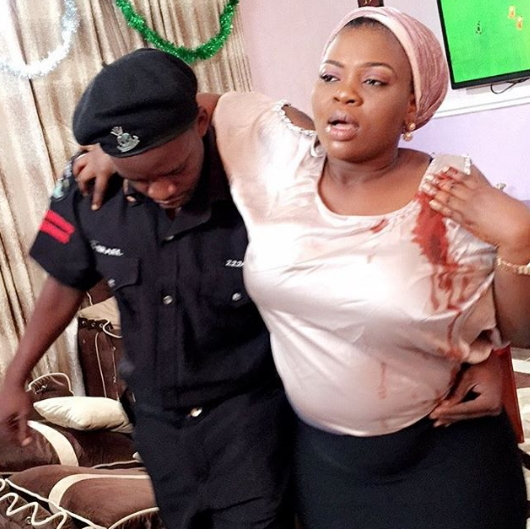 bimbo thomas stabbed on movie set