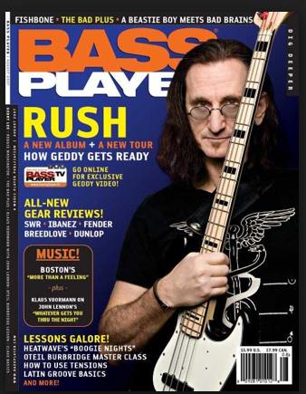 Geddy Lee Bassmasters Bass Guitar Learning Center