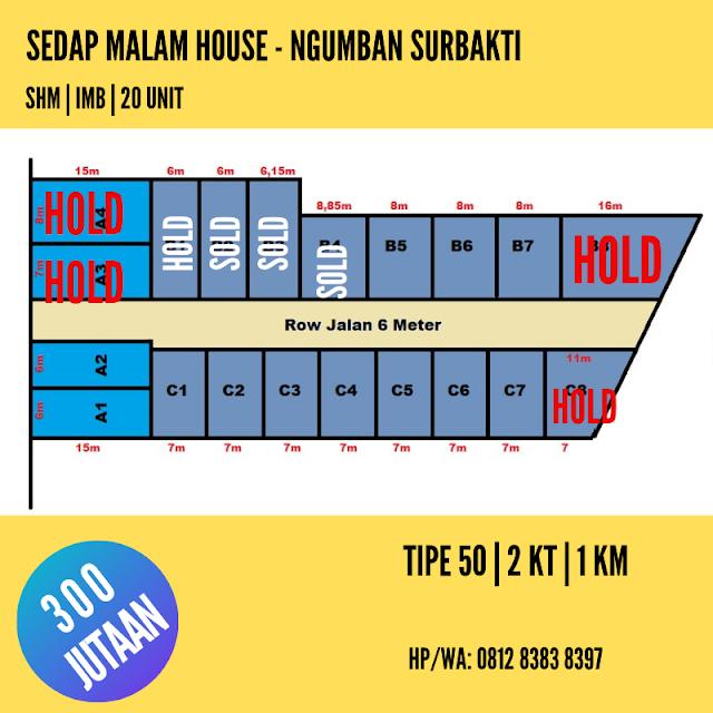 Rumah Murah Di Ngumban Surbakti Padang Bulan Medan, DP Bisa Cicil 12 Kali, HANYA 300 JUTAAN