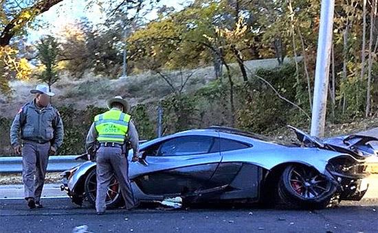 McLaren P1 acidente