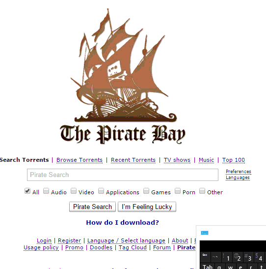 The Pirate Bay, top-10-free-movies-torrent-download