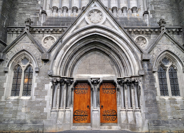 Travel Ireland by Rail from Dublin: Church in Maynooth, Ireland