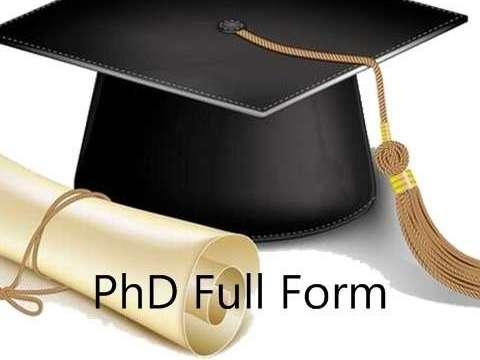 Ph.D. Full Form