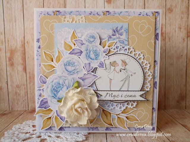 Niebieskie róże / Blue Roses