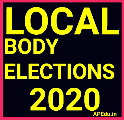 Election of local bodies in Andhra Pradesh.