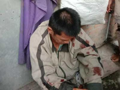Warga medan Mencuri beras karena kelaparan