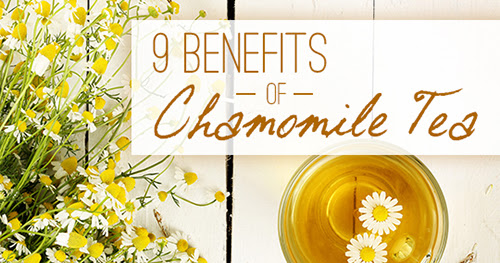 9 Reasons to drink Chamomile Tea