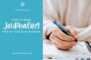 How to Make Journaling Part of Your Daily Routine, One of my favorites this week at Encouraging Hearts and Home, link-up your creations, right here at Scratch Made Food! & DIY Homemade Household!