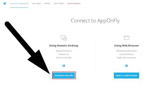 Cara Mendapatkan RDP FREE dan Membuat RDP Gratis Trial di Apponfly.com