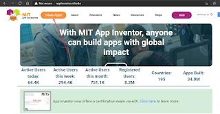 Buat Aplikasi MIT App Inventor