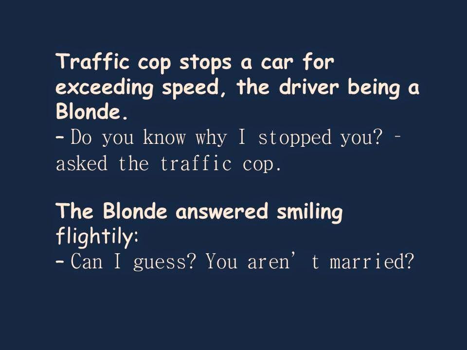 Funny Jokes   Jokes of the Day   Short Jokes : Blonde Jokes