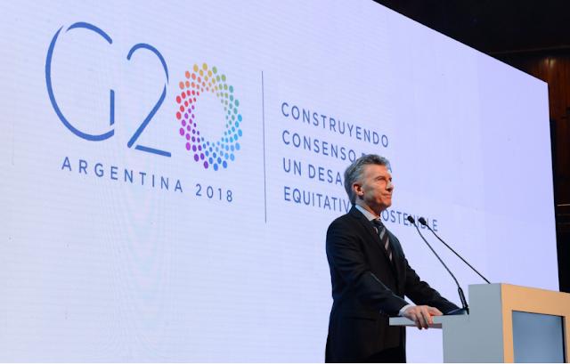 G 20  2018 Submit in argentina