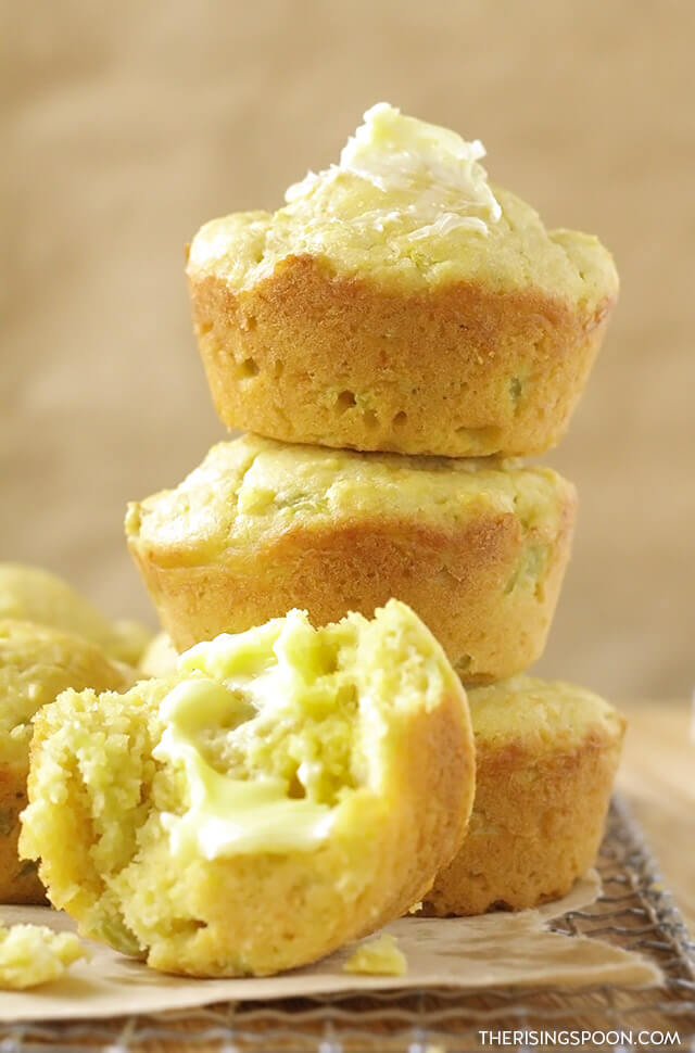 The Best Easy Honey Cornbread Muffins Recipe (Jiffy Copycat)