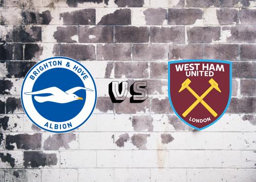 Brighton & Hove Albion vs West Ham United  Resumen y Partido Completo