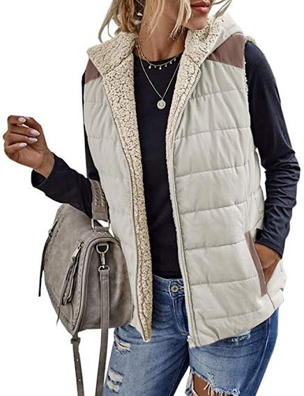 Women's Reversible Faux Fur Vest