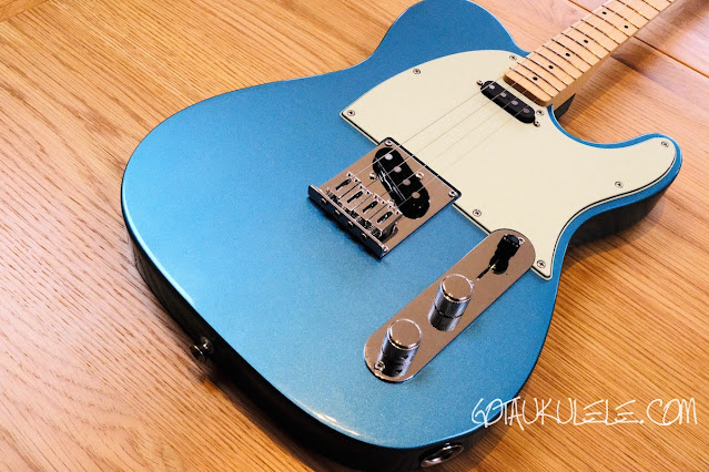 Fender Tenor Tele Guitar Ukulele Hybrid body
