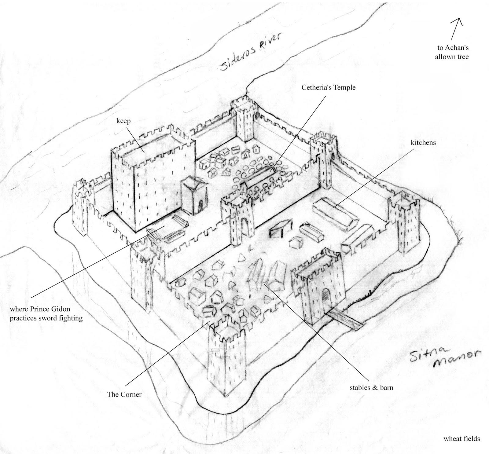Go Teen Writers Wewritebooks Post 4 Maps And Floorplans