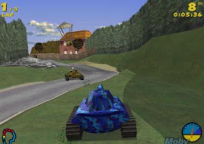 تنزيل لعبة Tank Racer مجانًا للكمبيوتر