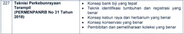 kisi kisi materi skb Teknisi Perkebunrayaan Terampil formasi cpns tahun 2021 tomatalikuang.com